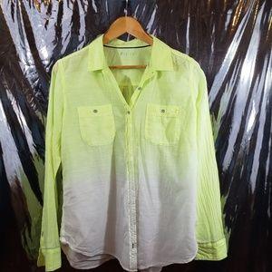 STYLUS Linen Button Down Shirt